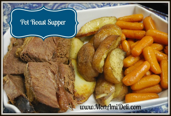 Pot roast supper