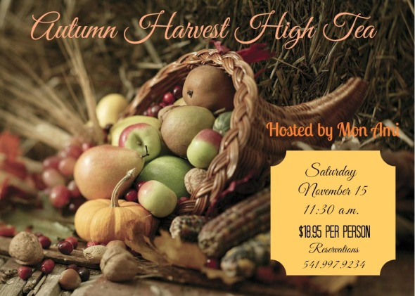 harvest high tea